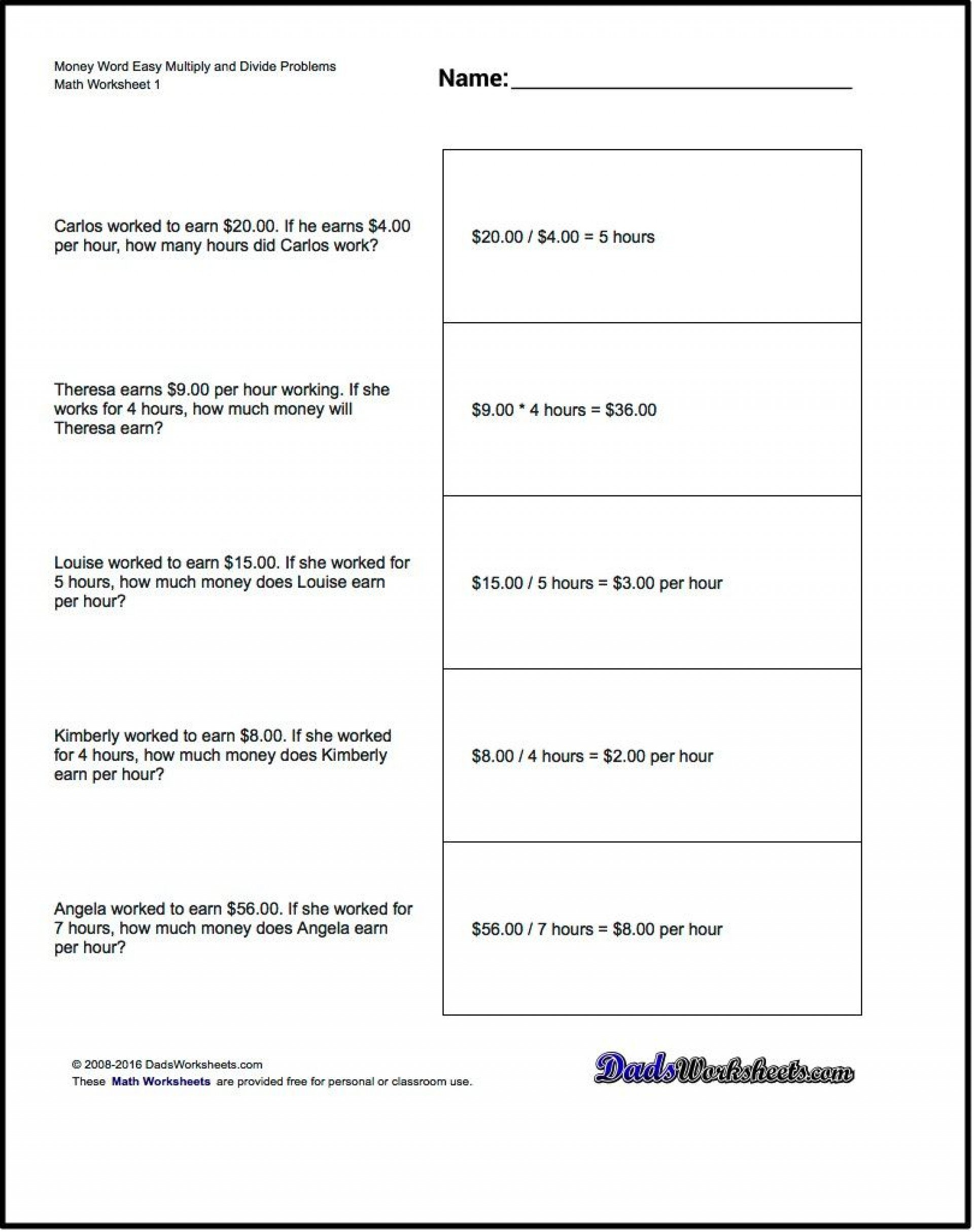 017 Printable Word Fourth Grade Math Amazing Problems 4Th Worksheets Throughout 8Th Grade Math Worksheets Common Core