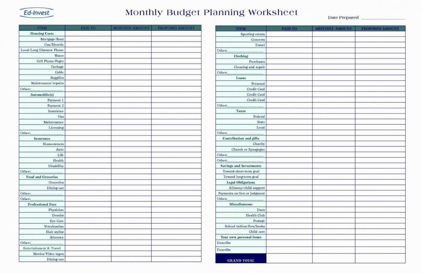 040 Business Financial Plan Template Excel Inspirational Design ... Throughout Personal Financial Planning Template Free