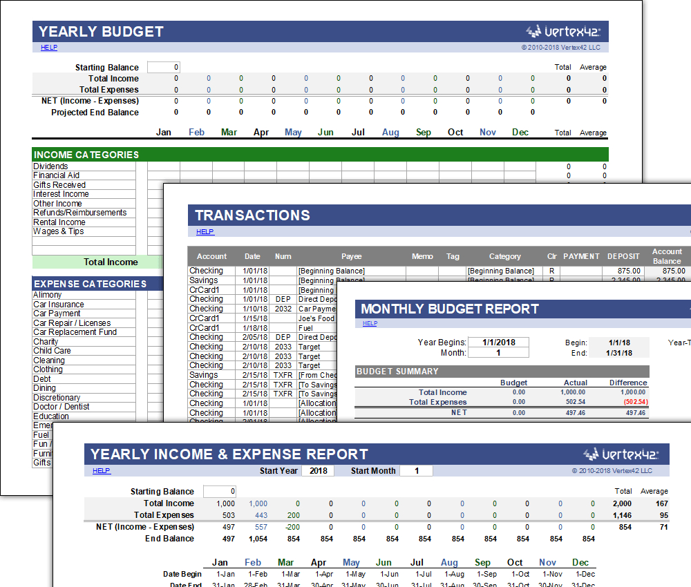 10 Free Spreadsheet Templates To Help Manage Your Finances | Komando.com Along With Money Saving Spreadsheet Template