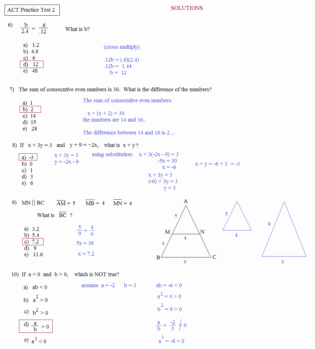 17 Act Prep Science Worksheets – Cgcprojects – Resume Regarding Act Math Worksheets