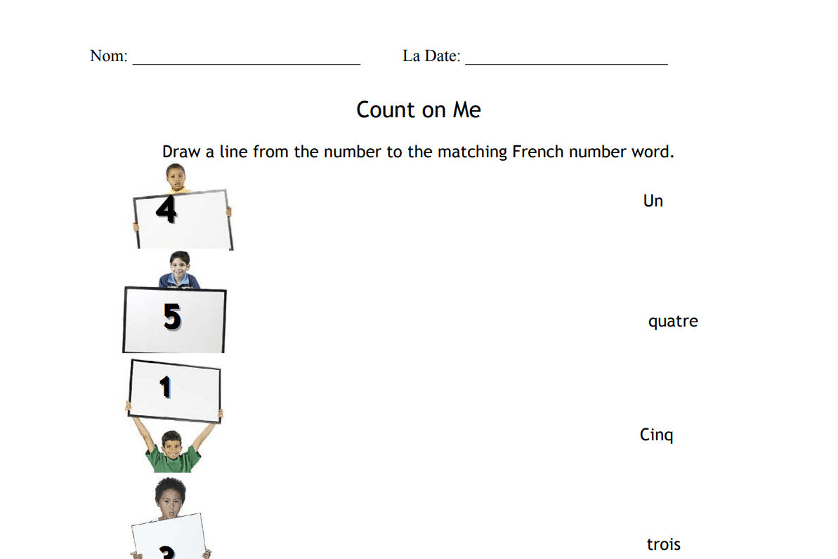 17 Free French Worksheets To Test Your Knowledge Along With Free French Worksheets For Kids