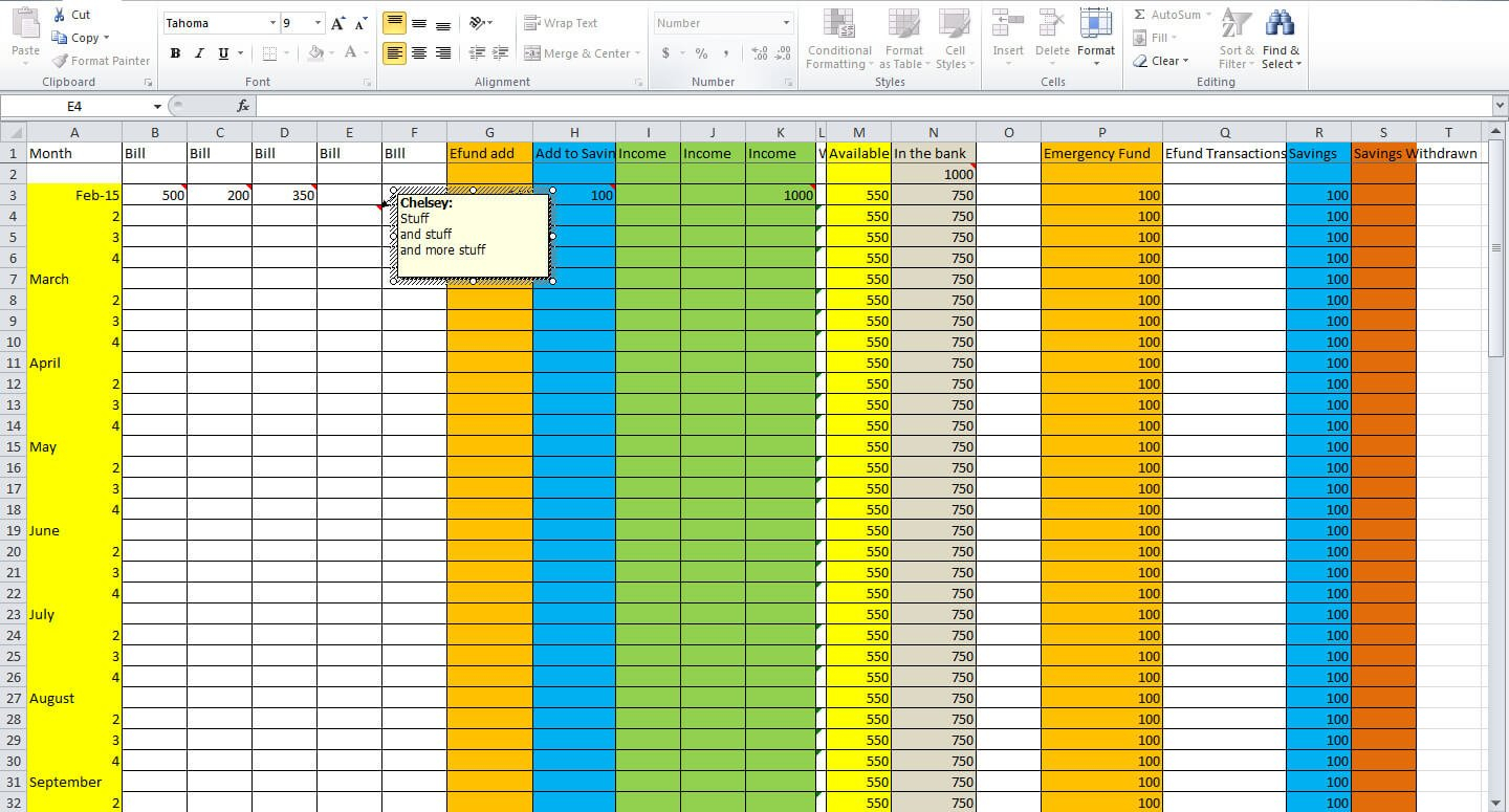 3 Essential Tips For Creating A Budget Spreadsheet   Tastefully Eclectic For How To Make A Good Budget Spreadsheet