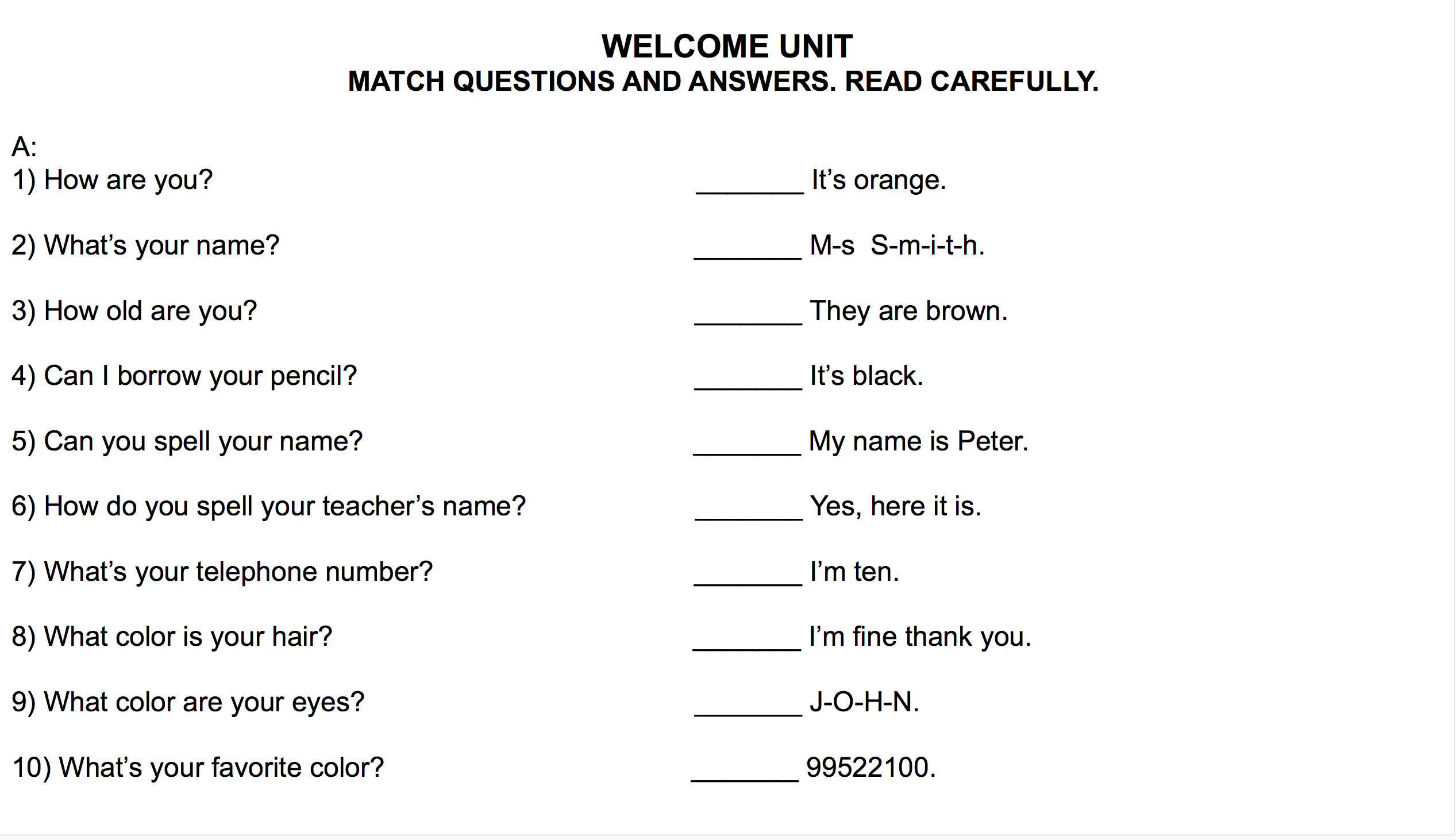 455 Free Printable Worksheets On Questions And Short Answers Along With Did You Hear About Worksheet Answers Page 150