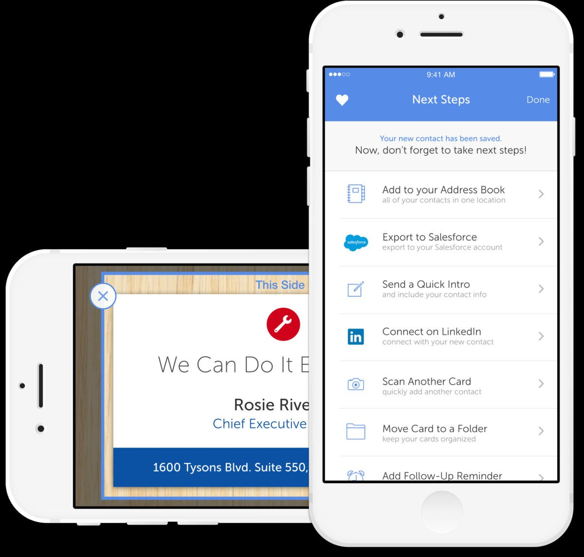 5 Apps To Help You Digitally Organize Business Cards   Macworld Also Scan Business Cards Into Excel Spreadsheet