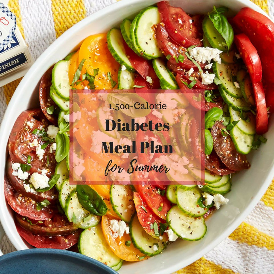 5Day Diabetes Meal Plan For Summer  Eatingwell In Diabetic Meal Planning Worksheet