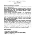 7Th Grade Reading Comprehension Worksheets Pdf Name Tracing Regarding Pre K Reading Worksheets