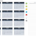 Blank 2019 Monthly Calendar Template Excel with 2019 Monthly Calendar Template Excel Form