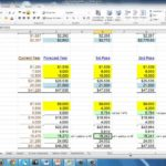 Blank Financial Forecast Template Excel throughout Financial Forecast Template Excel Free Download