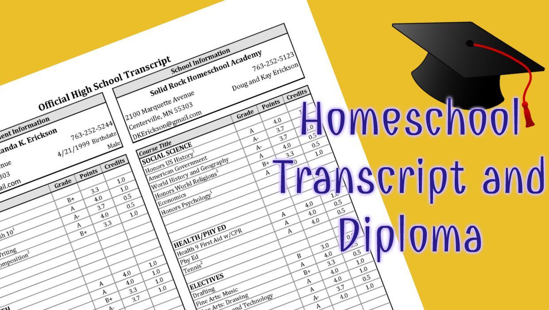 Blank High School Transcript Template Excel For High School Transcript Template Excel Example