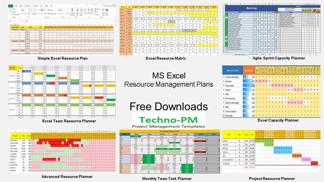 Blank Human Resource Capacity Planning Excel Template To Human Resource Capacity Planning Excel Template Template