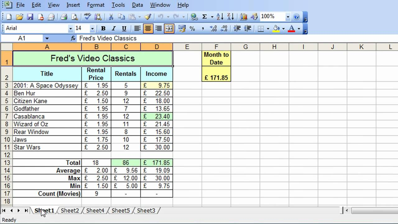 Blank Ms Excel Spreadsheet Tutorial Throughout Ms Excel Spreadsheet Tutorial Template