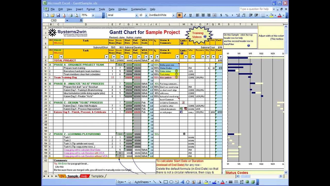 Blank Project Plan Template Excel 2013 In Project Plan Template Excel 2013 Download