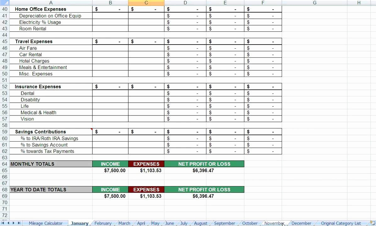 Blank Tax Deduction Spreadsheet Template Excel With Tax Deduction Spreadsheet Template Excel Templates