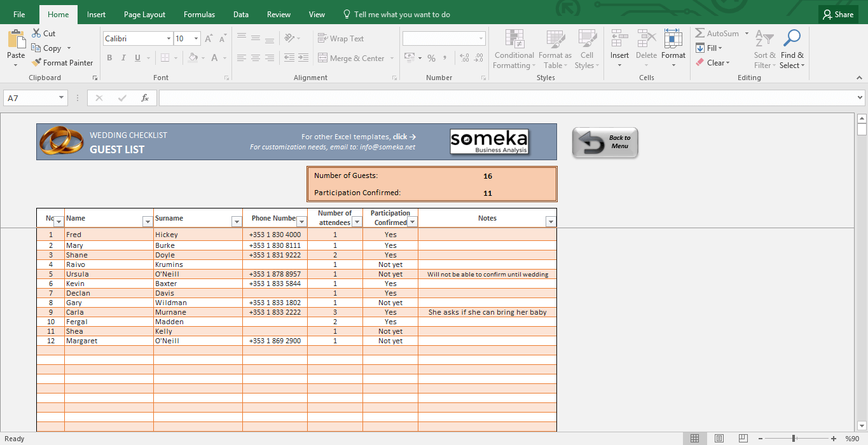 Blank Wedding Planning Excel Spreadsheet In Wedding Planning Excel Spreadsheet Xls