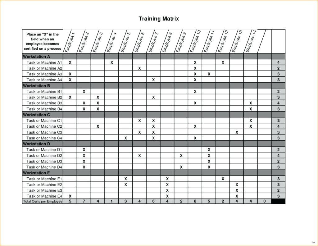 Document Of Excel Matrix Template In Excel Matrix Template In Workshhet