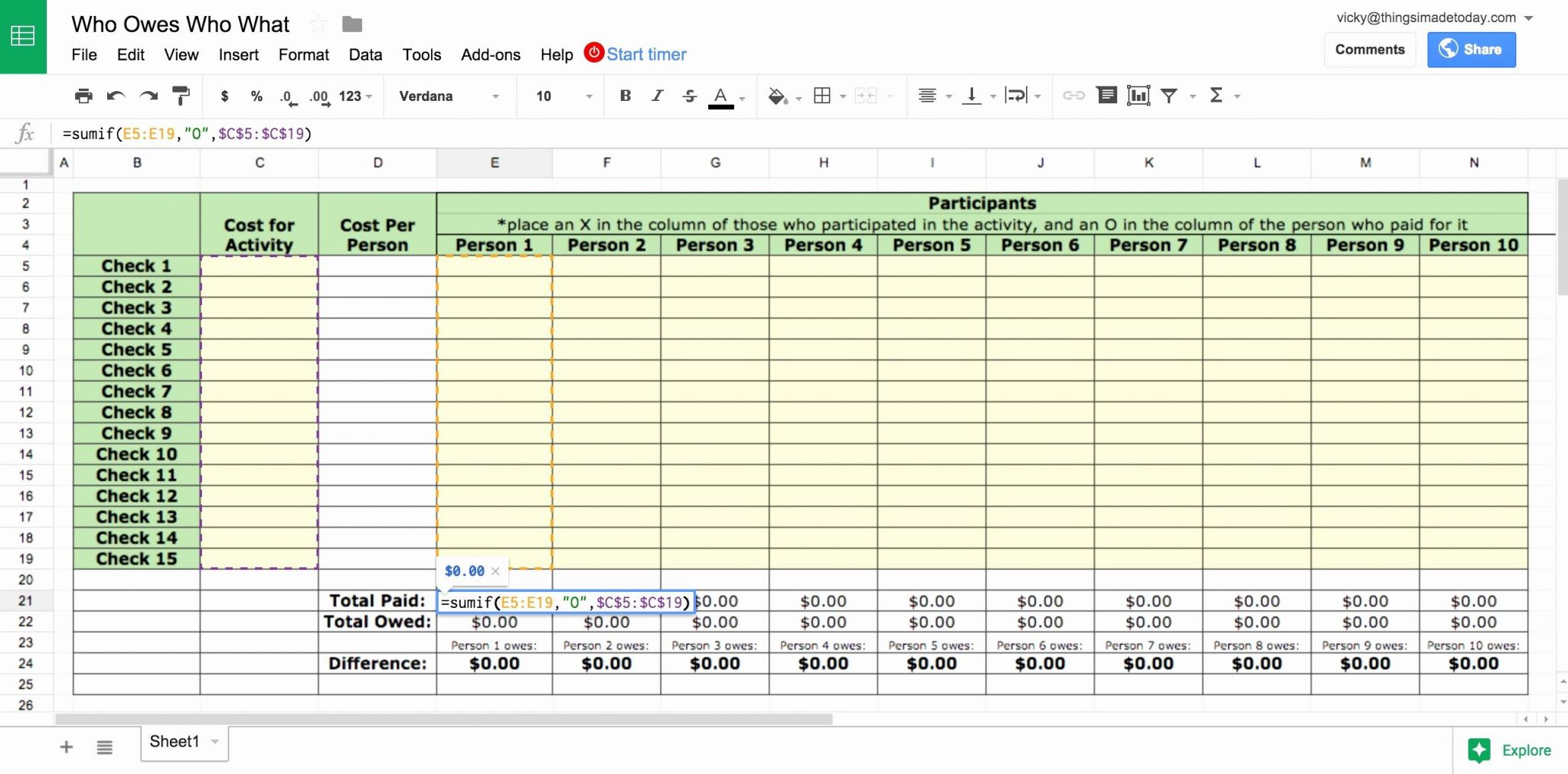 Document Of Monte Carlo Simulation Excel Template Within Monte Carlo Simulation Excel Template Download For Free