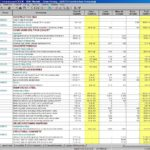 Document Of Procurement Excel Spreadsheets In Procurement Excel Spreadsheets Template