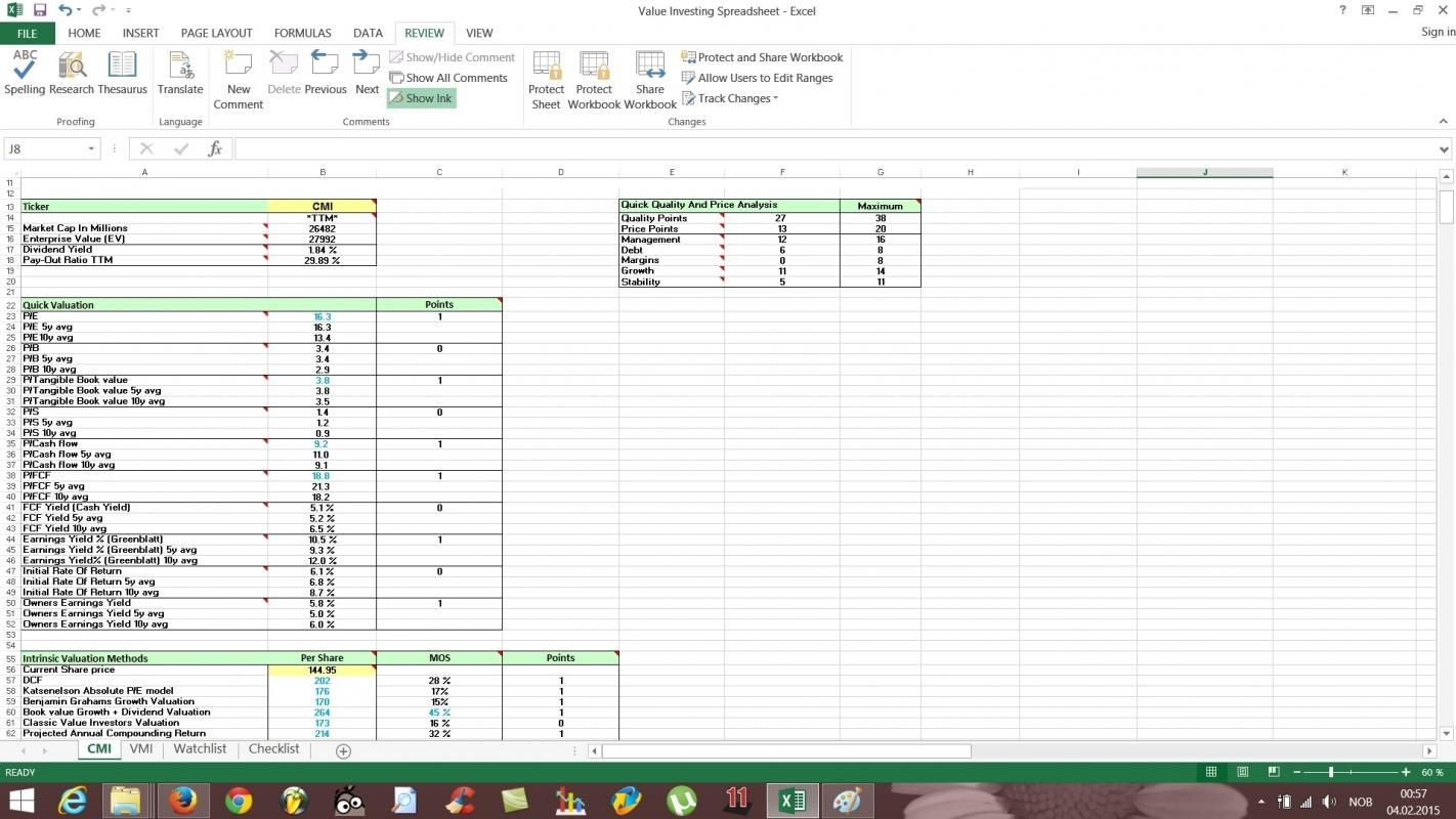 Document Of Rule 1 Investing Spreadsheet Within Rule 1 Investing Spreadsheet Letters