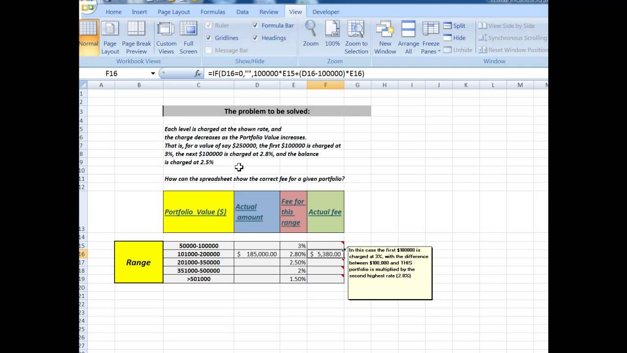 Document Of Sliding Scale Commission Excel Template Within Sliding Scale Commission Excel Template In Spreadsheet