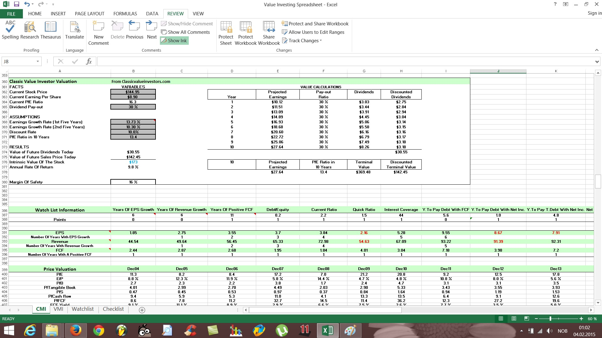 Document Of Stock Analysis Spreadsheet Excel Template For Stock Analysis Spreadsheet Excel Template For Free