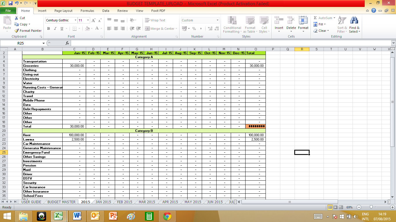 Documents Of 50 30 20 Budget Excel Template To 50 30 20 Budget Excel Template In Excel