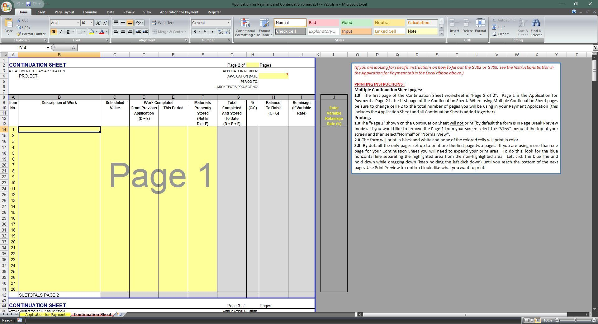 Documents Of Aia G702 Excel Template In Aia G702 Excel Template Download