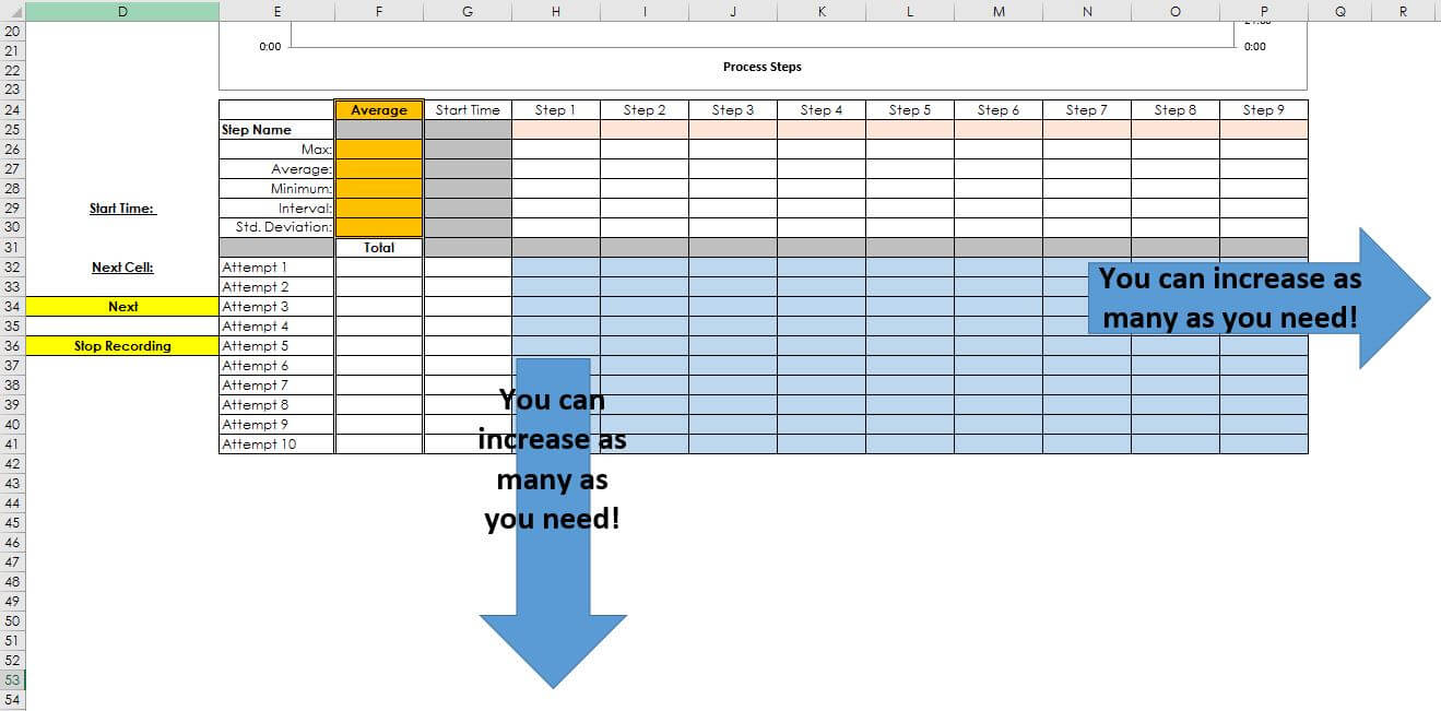 Documents Of Cycle Time Excel Template With Cycle Time Excel Template Form