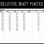 Documents Of Fantasy Football Draft Excel Spreadsheet 2019 And Fantasy Football Draft Excel Spreadsheet 2019 Examples