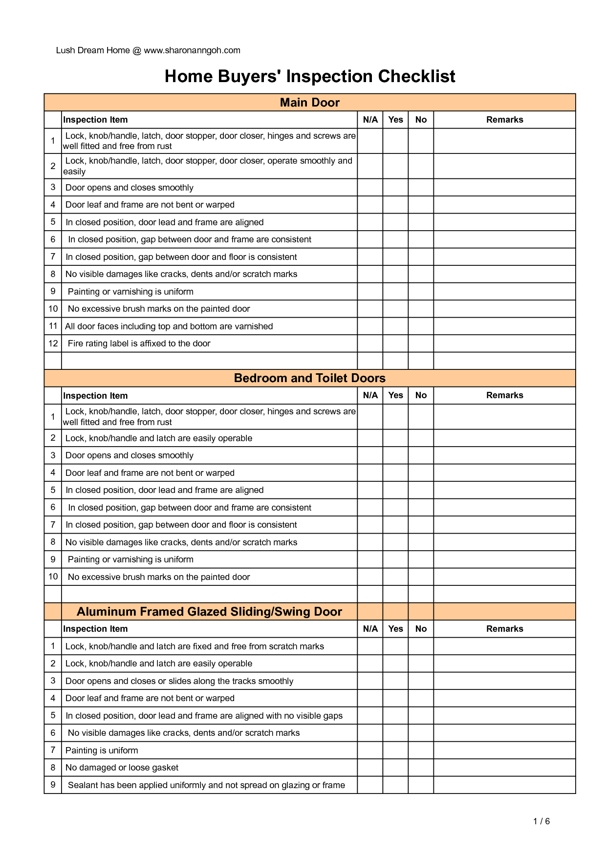 Documents Of Home Inspection Template Excel With Home Inspection Template Excel Printable