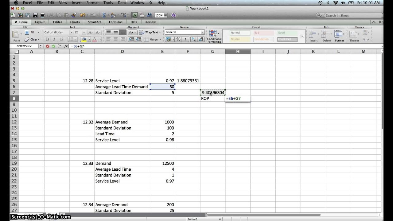 Documents Of Inventory Reorder Point Excel Template To Inventory Reorder Point Excel Template Letters