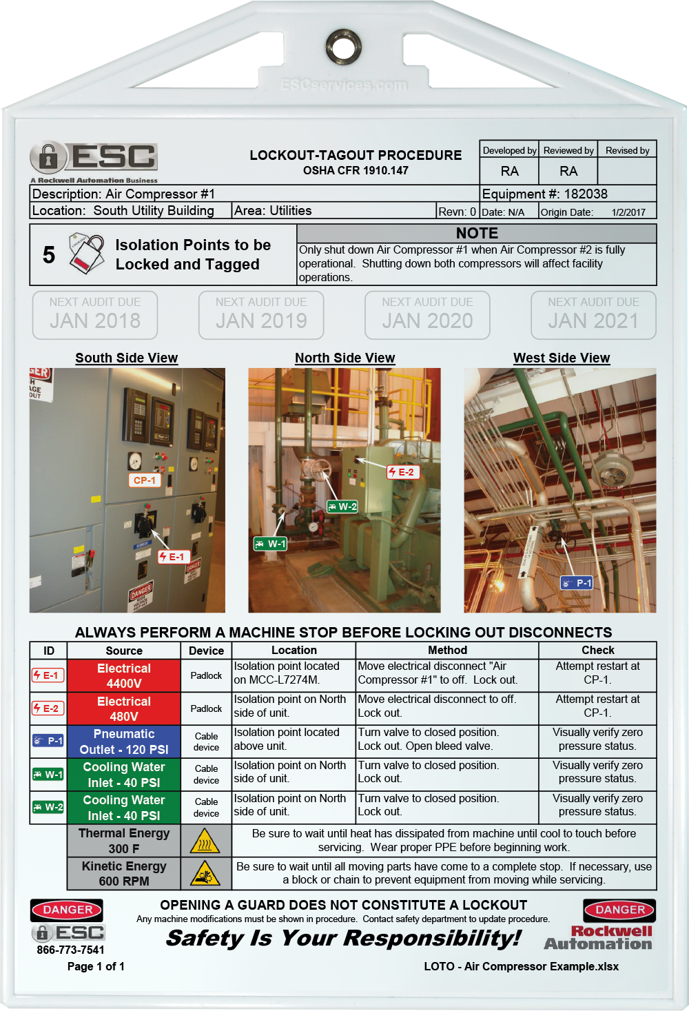Documents Of Lockout Tagout Template Excel With Lockout Tagout Template Excel For Google Spreadsheet