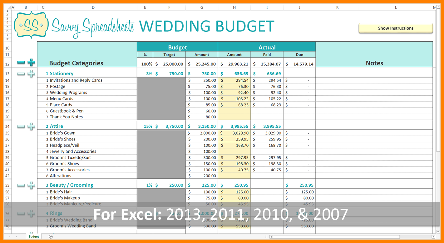 Documents Of Wedding Budget Excel Spreadsheet Inside Wedding Budget Excel Spreadsheet Sheet
