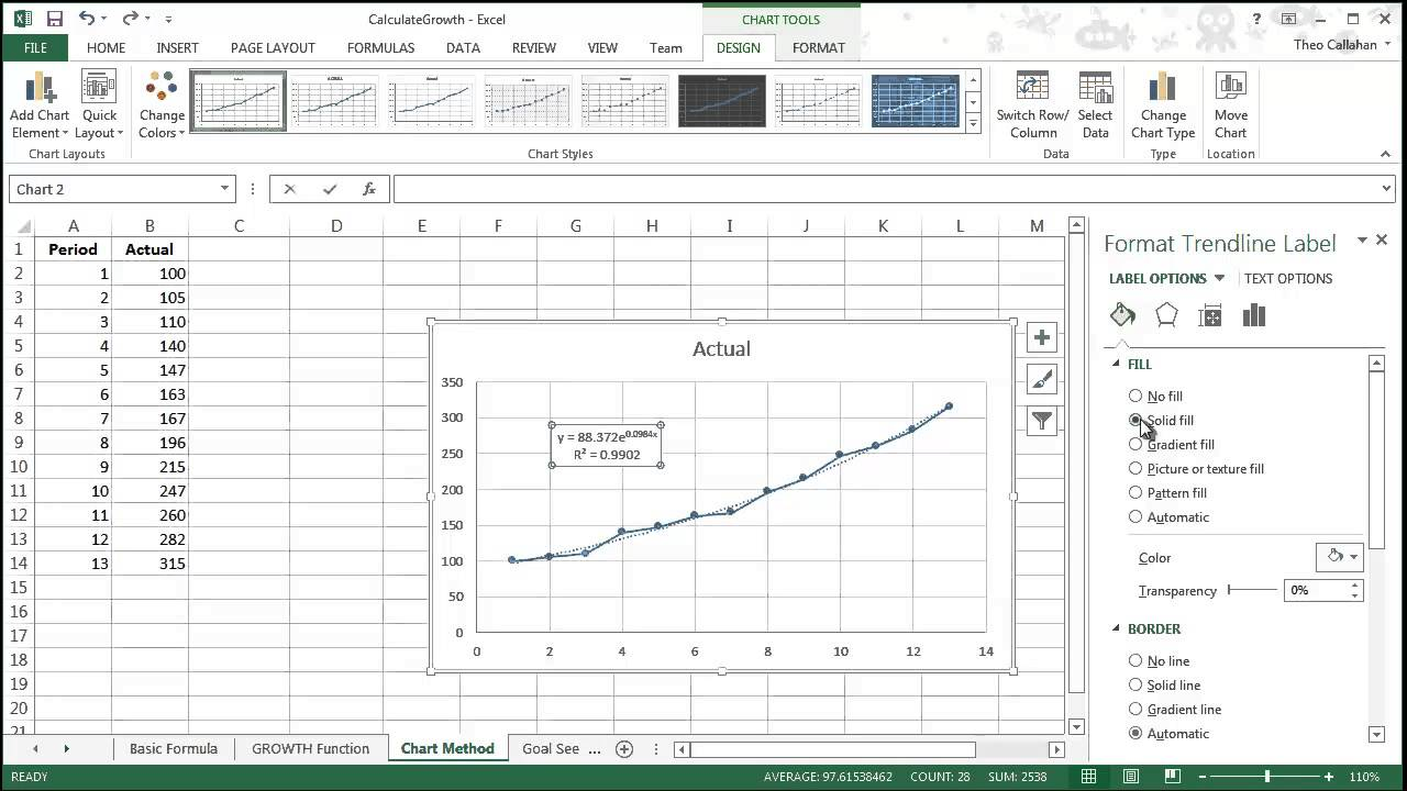 Download Excel Growth Chart Template With Excel Growth Chart Template For Free