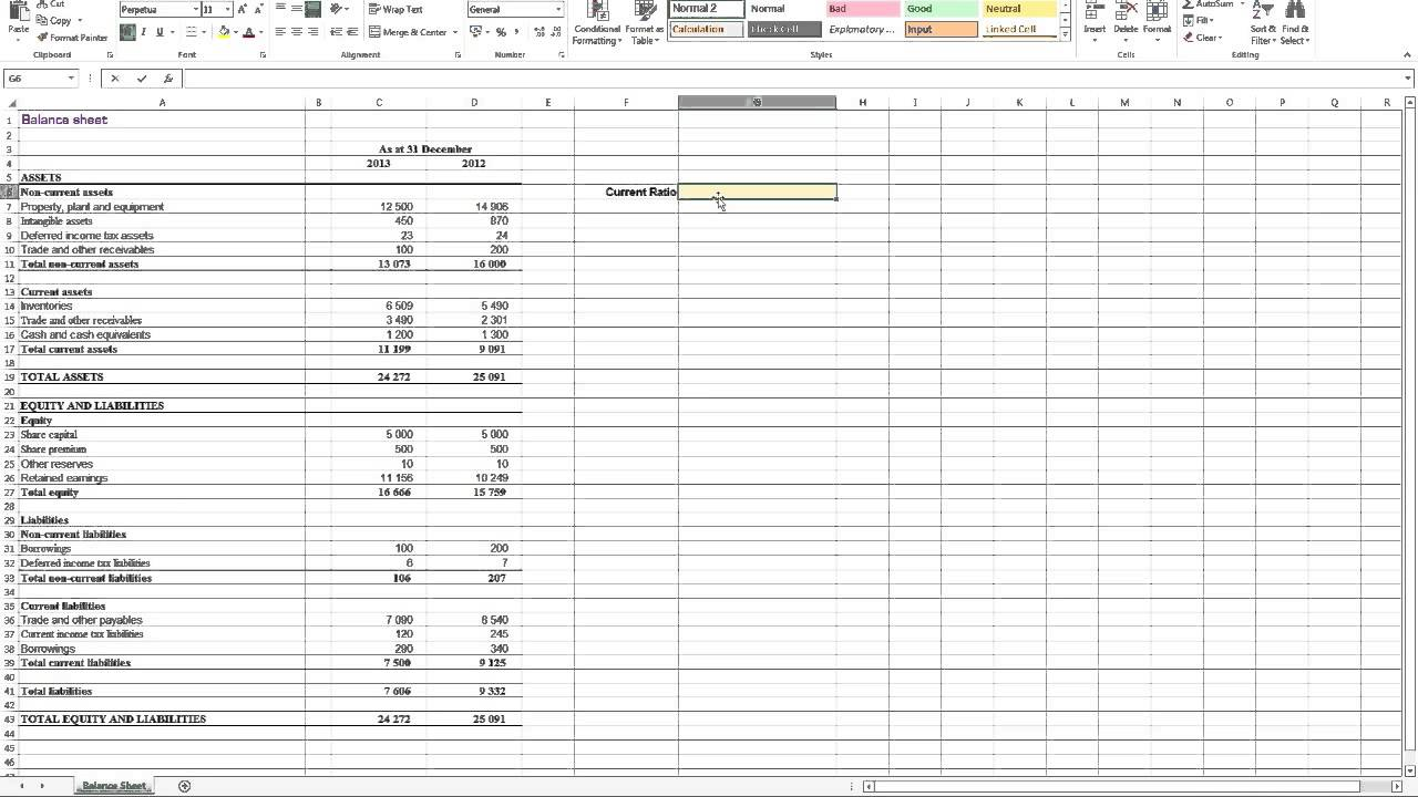 Download Financial Ratios Excel Spreadsheet To Financial Ratios Excel Spreadsheet Samples