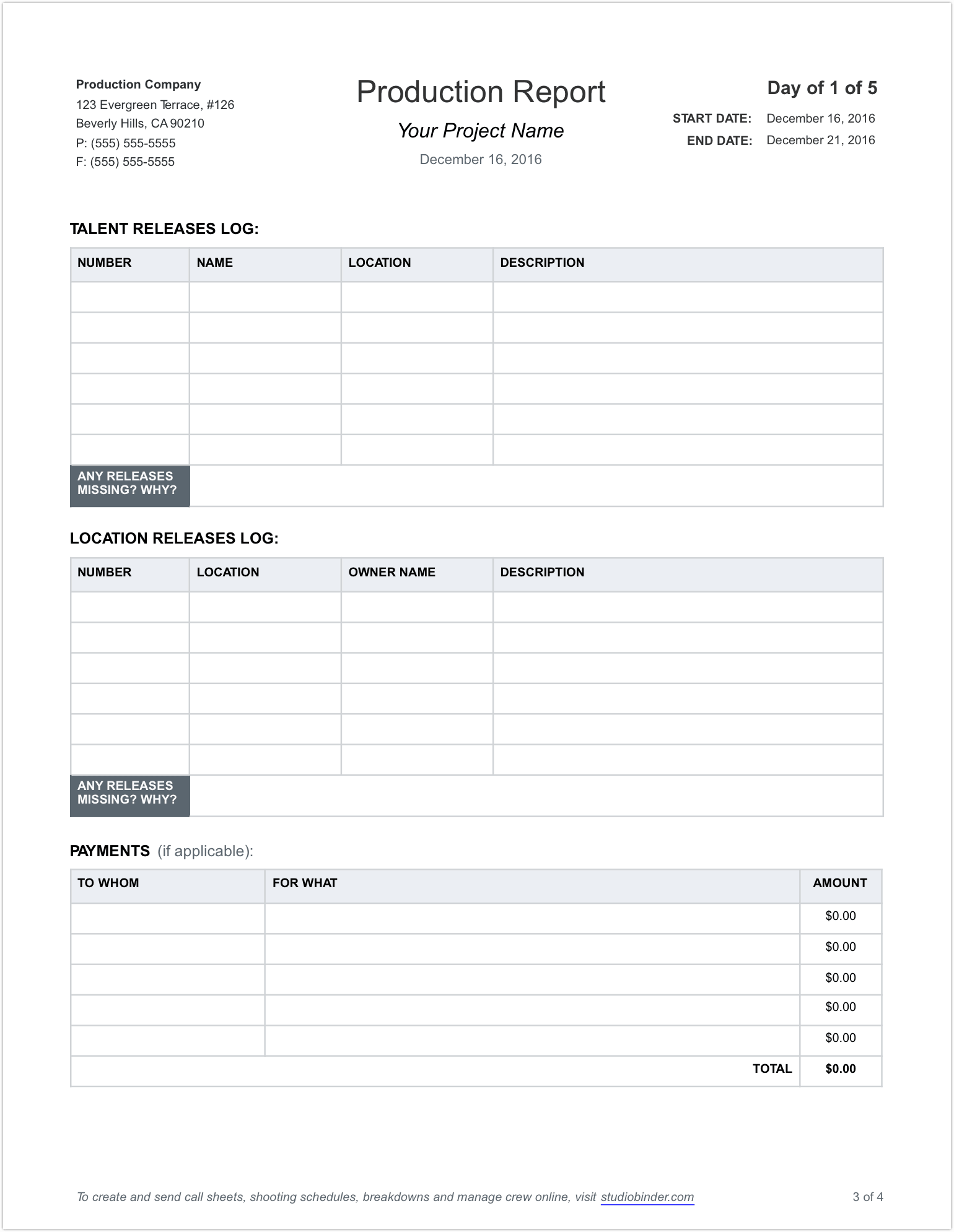 Download Production Report Template Excel Within Production Report Template Excel In Excel