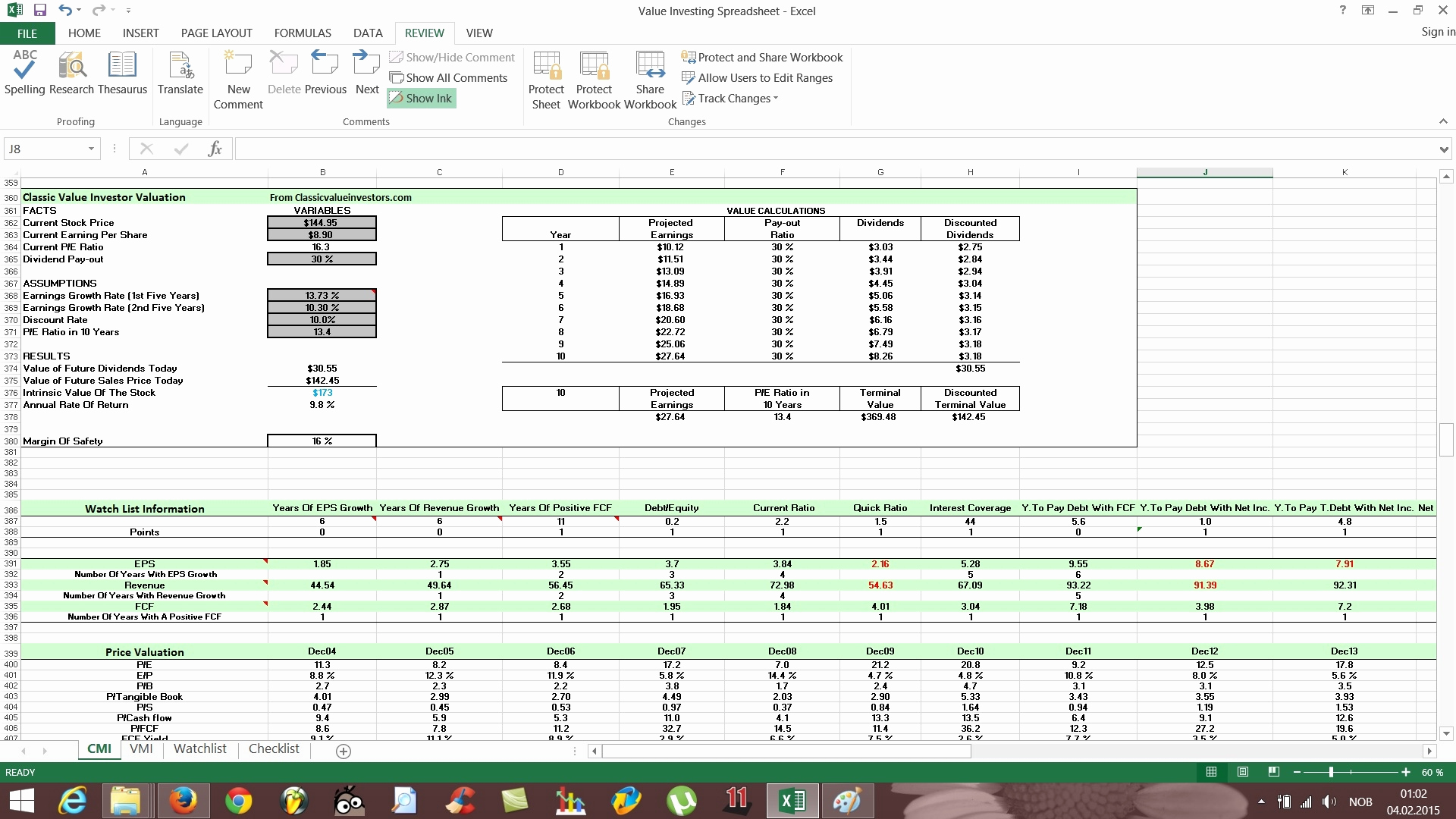 Download Rule 1 Investing Spreadsheet And Rule 1 Investing Spreadsheet Download