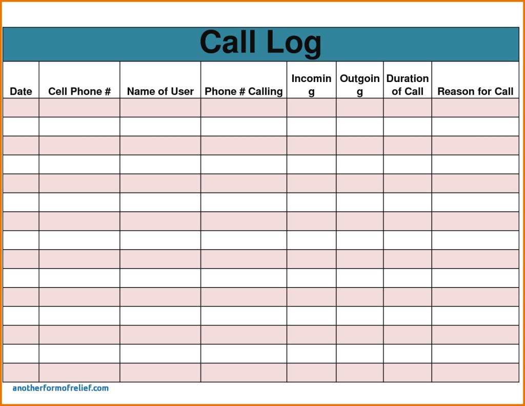 Download Sales Call Report Template Excel Inside Sales Call Report Template Excel Xls
