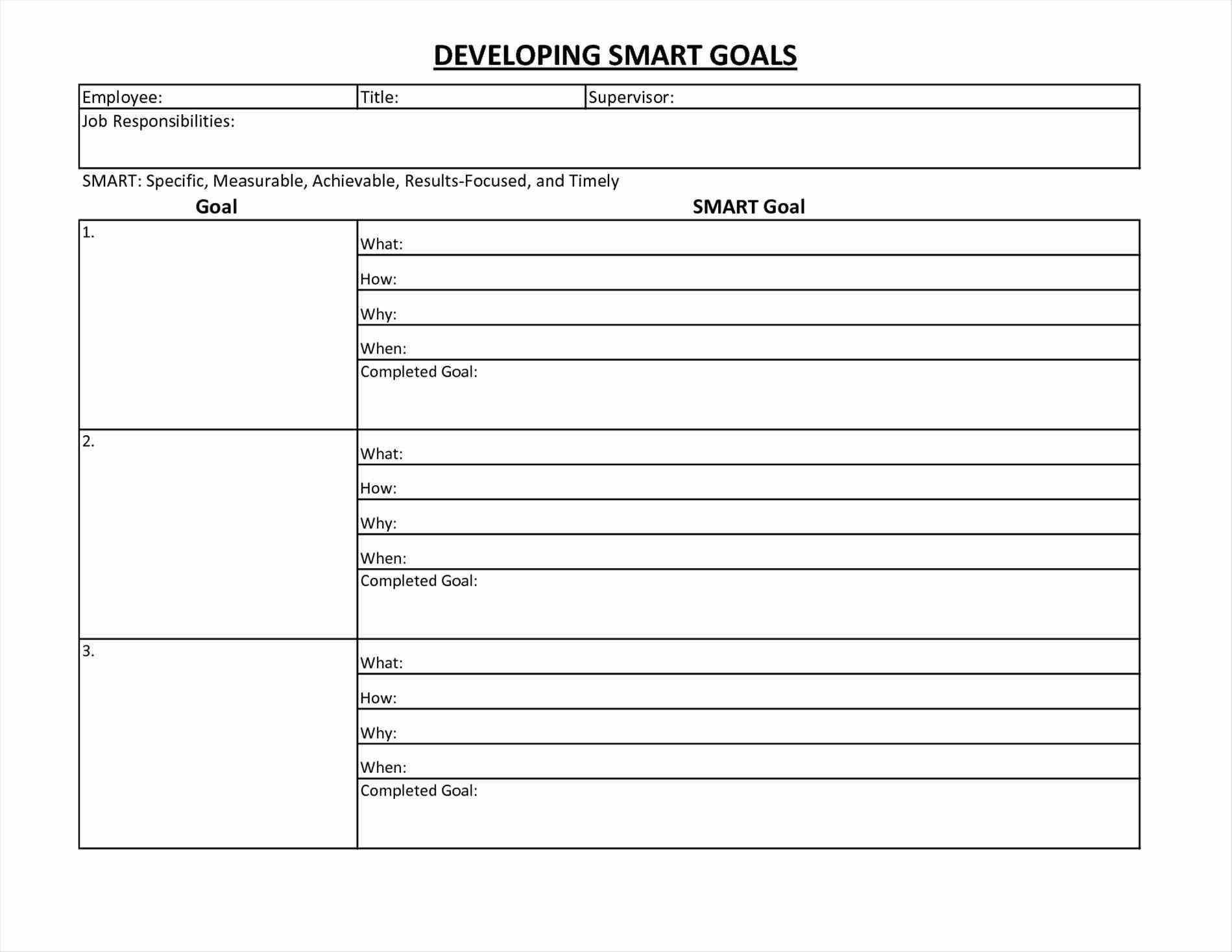 Download Smart Goal Setting Template Excel Within Smart Goal Setting Template Excel Samples