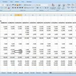 Example Of 12 Month Profit And Loss Projection Excel Template And 12 Month Profit And Loss Projection Excel Template For Personal Use