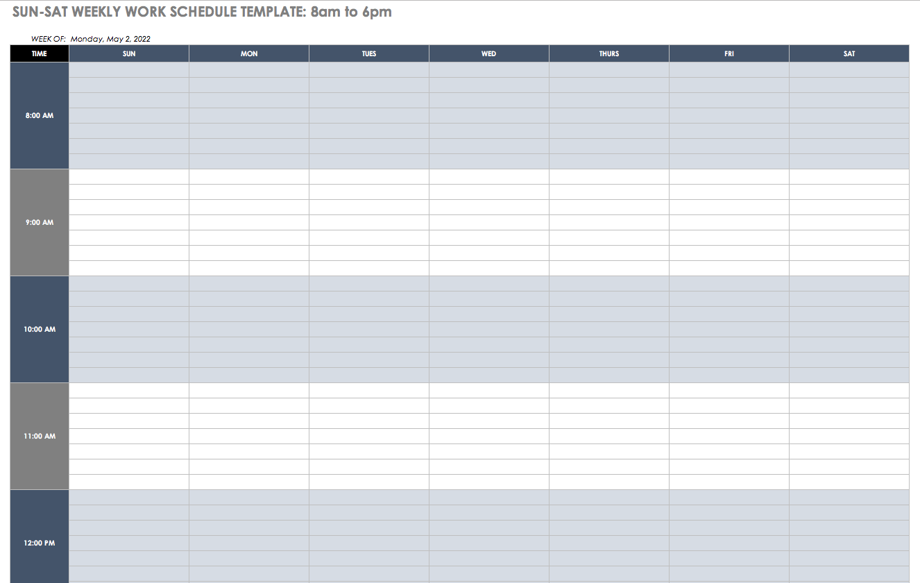 Example Of Excel Spreadsheet For Scheduling Employee Shifts For Excel Spreadsheet For Scheduling Employee Shifts Samples