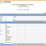 Example Of Hoa Excel Template Throughout Hoa Excel Template Xls