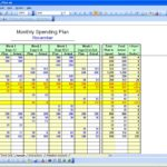 Example of Personal Finance Excel Template throughout Personal Finance Excel Template for Personal Use