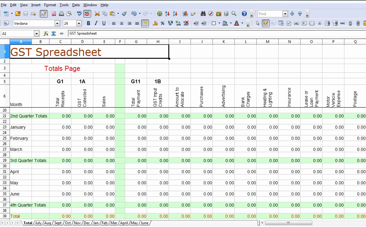 Example of Sample Spreadsheet Data with Sample Spreadsheet Data Template