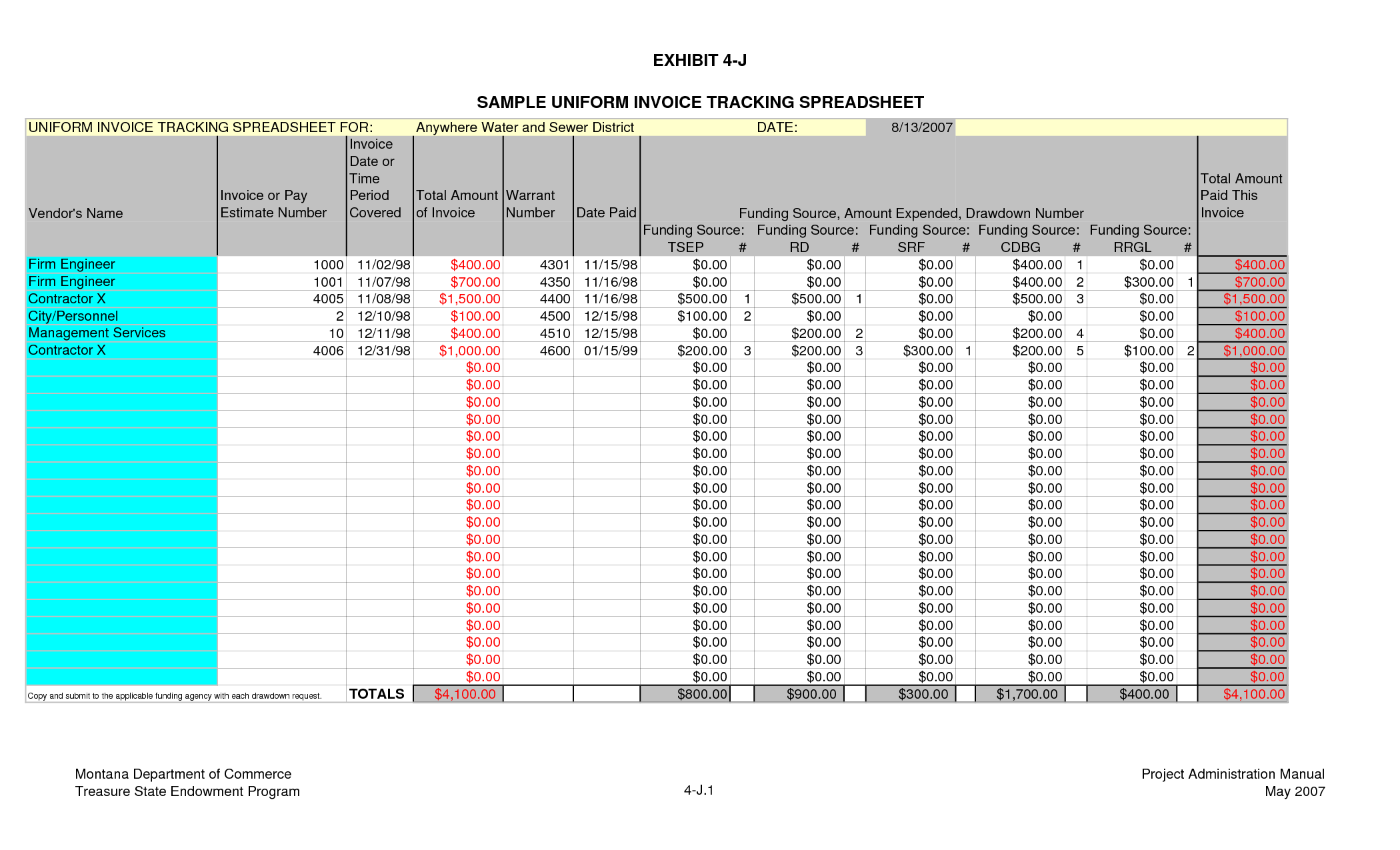 Examples Of Bill Management Excel Template Within Bill Management Excel Template Form