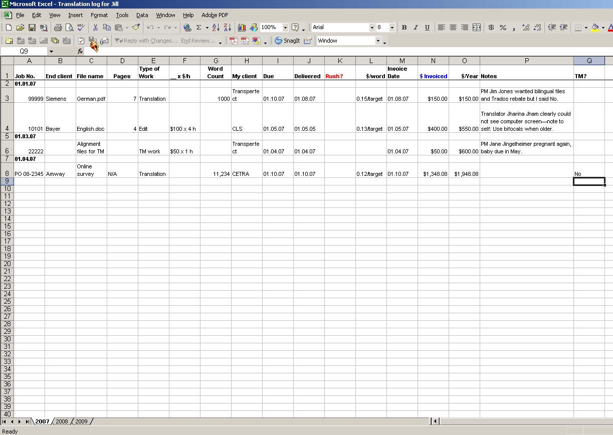 Examples Of Excel Spreadsheet Freelance Work Throughout Excel Spreadsheet Freelance Work Free Download