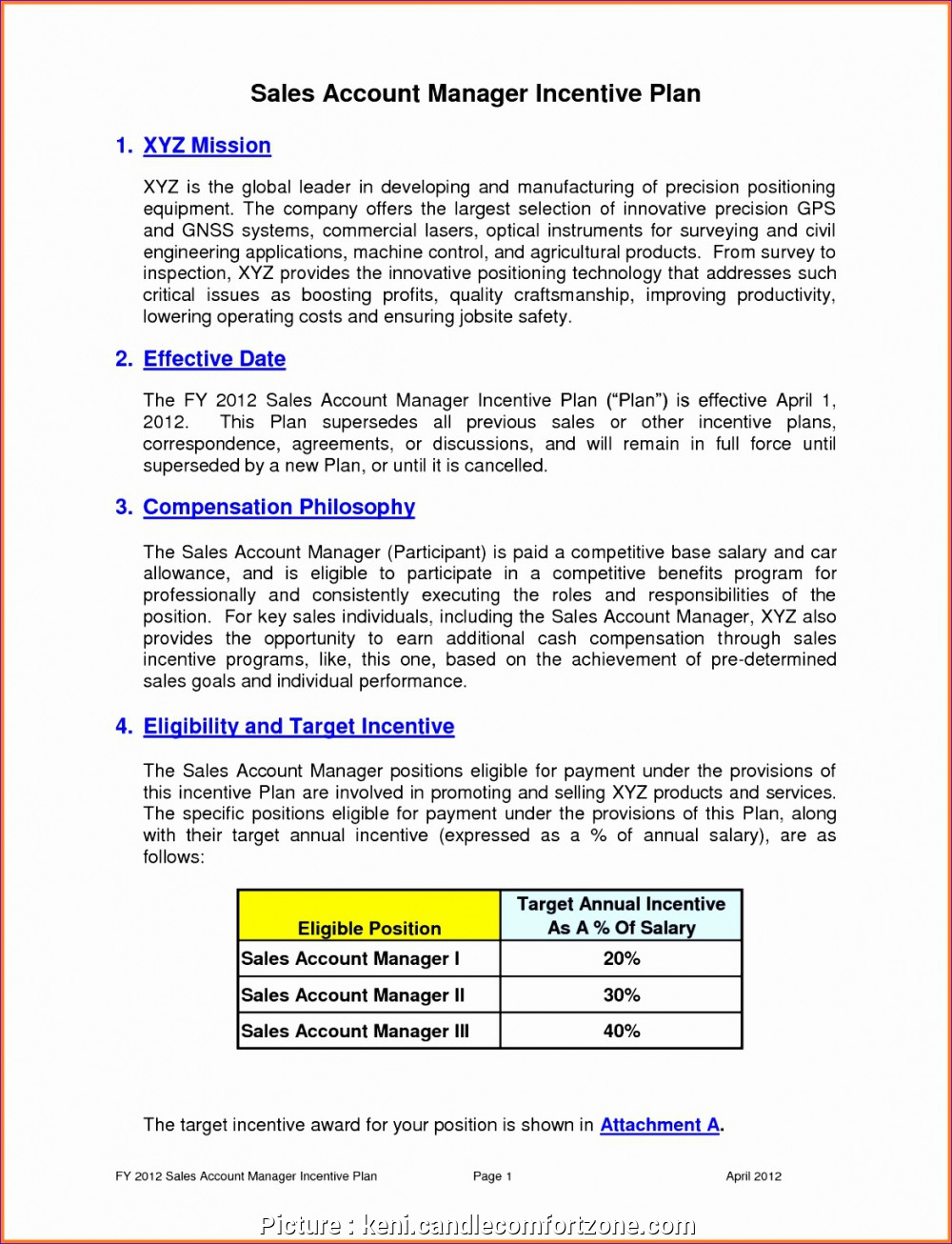 Examples Of Sales Compensation Plan Template Excel Inside Sales Compensation Plan Template Excel Letter