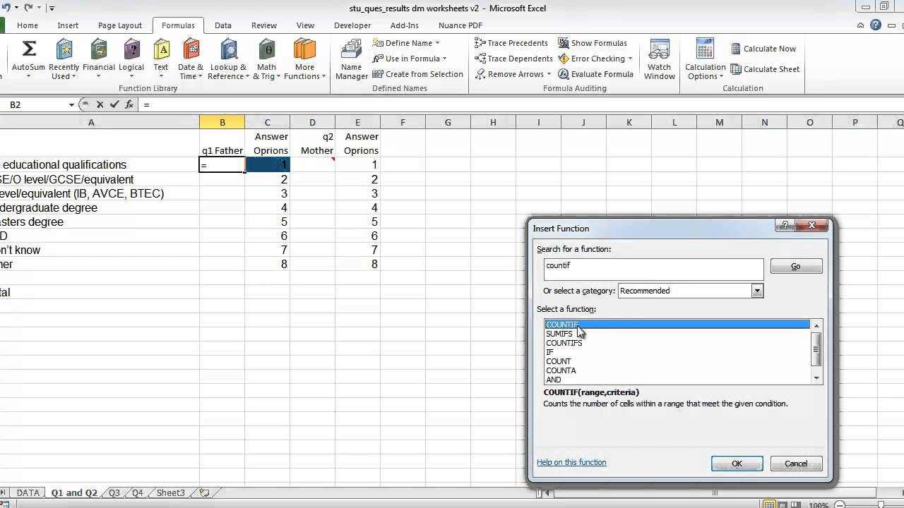 Examples Of Survey Spreadsheet Template Within Survey Spreadsheet Template Letters