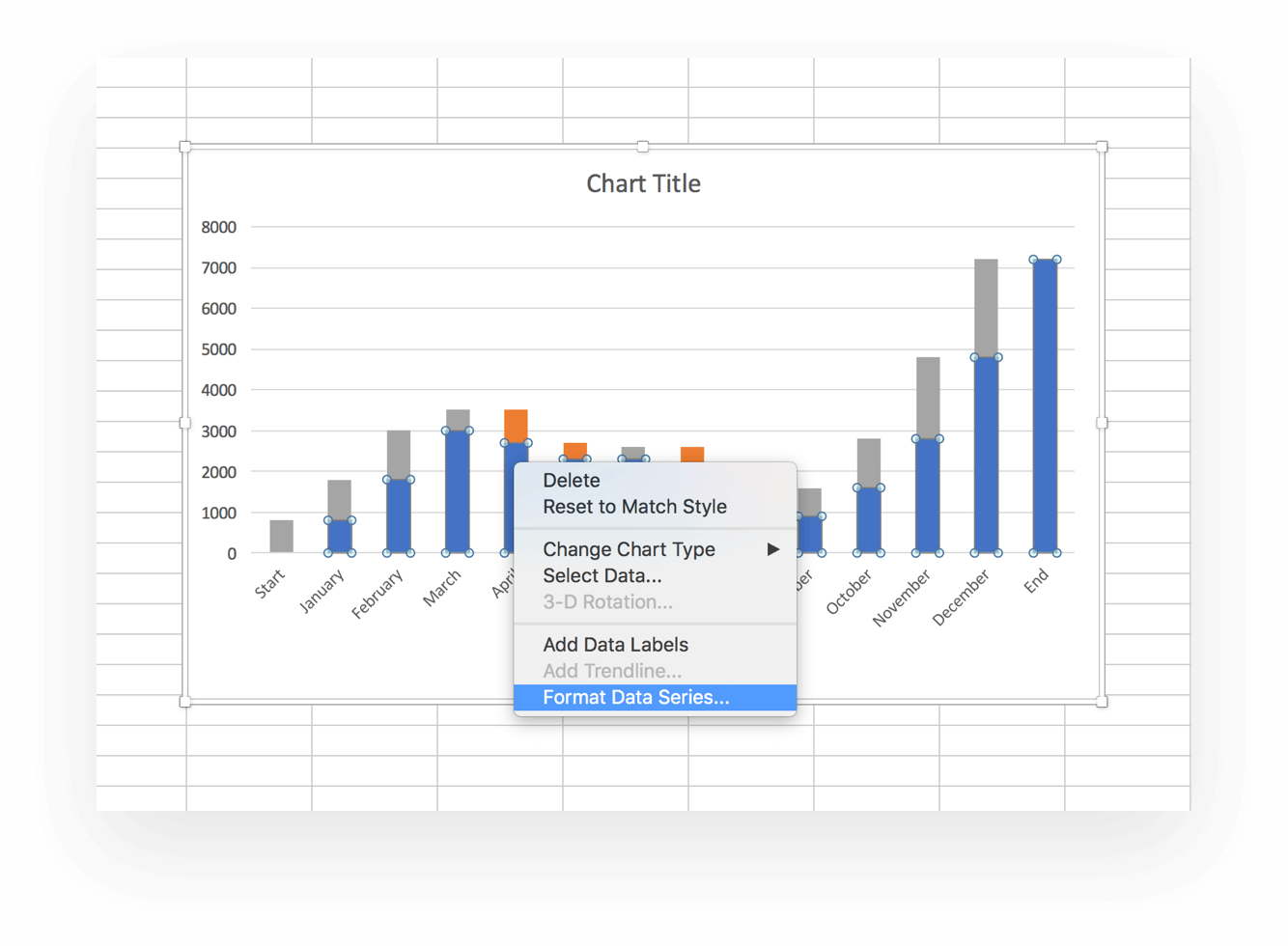 Examples Of Waterfall Chart Excel Template Intended For Waterfall Chart Excel Template Samples