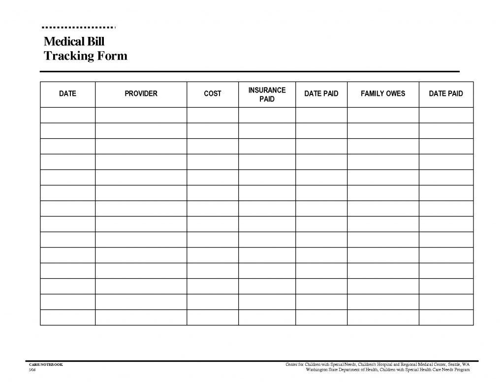 Free Bill Organizer Template Excel In Bill Organizer Template Excel Templates
