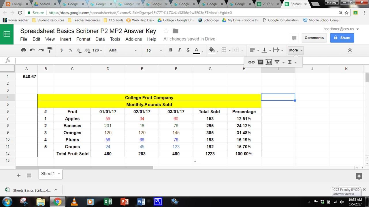 Free Excel Spreadsheet Basics In Excel Spreadsheet Basics For Free